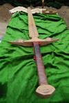 Old wood sword
