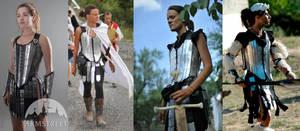 Fantasy women armor set