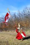 Blood elf / Warhammer phoenix guard elves mix