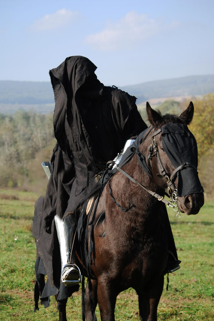 Nazgul on horse by Sindeon
