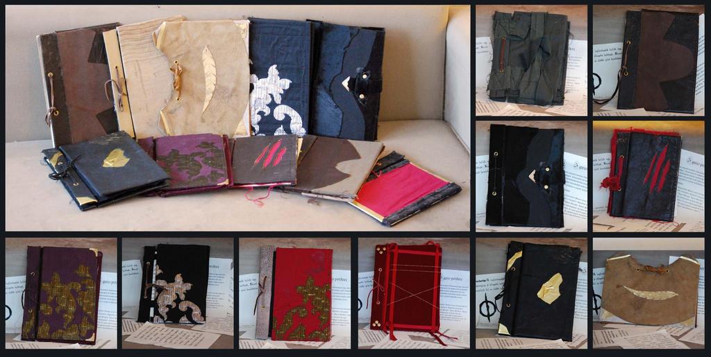 Grimoire - hand made spellbooks by Sindeon
