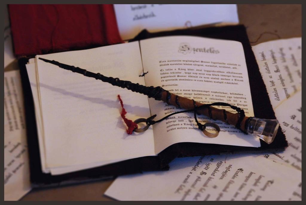 Magic wand by Sindeon