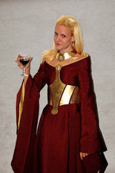 Cersei Lannister Season 3 metal belt cosplay by Sindeon