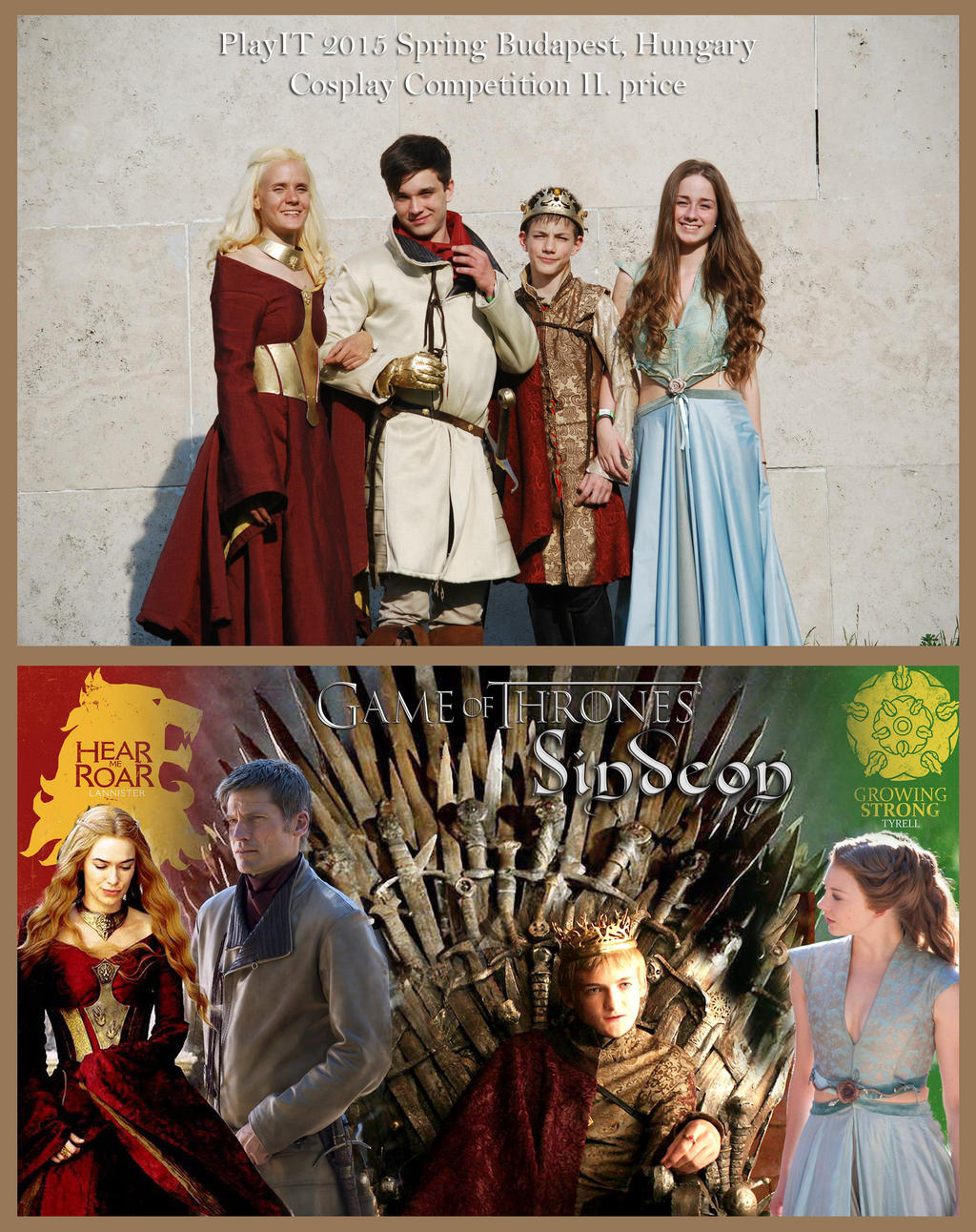Game of Thrones Cosplay group