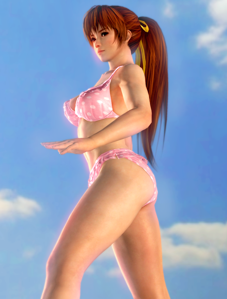 Kasumi's Beach Time by x2gon