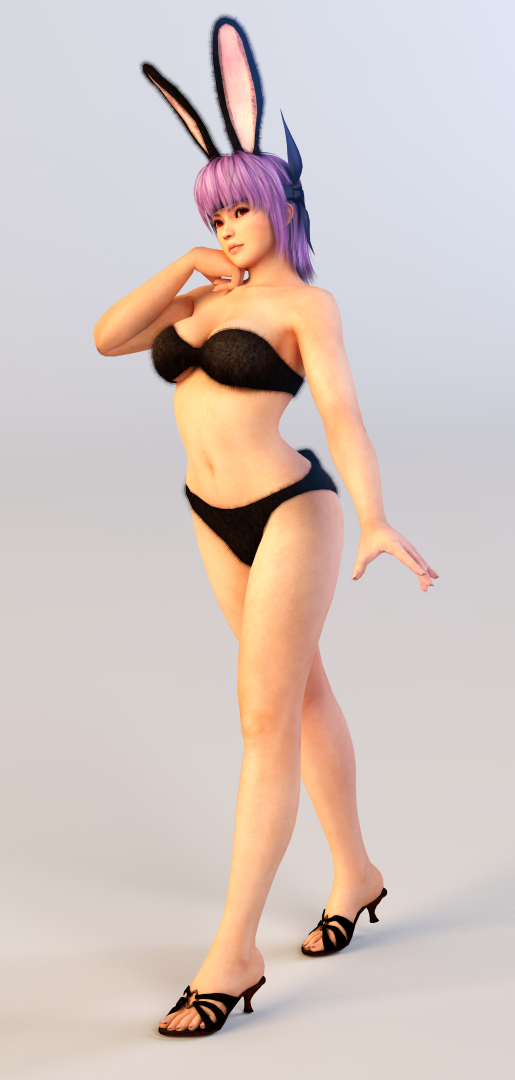 Ayane 3DS Render 7 by x2gon