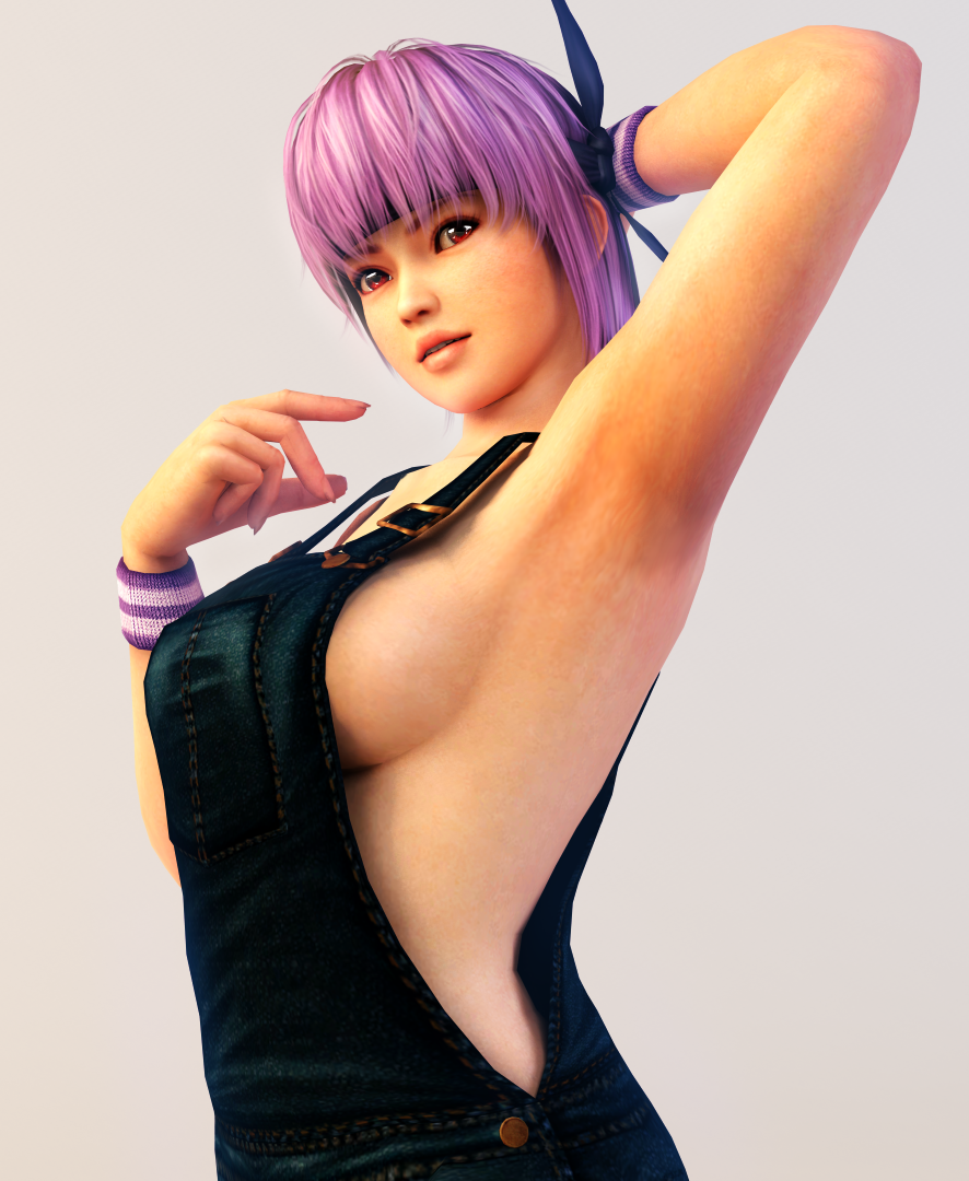 Ayane 3DS Render 10 by x2gon