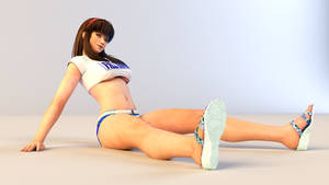 Hitomi 3DS Render 4