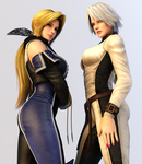 Christie and Helena 3DS Render