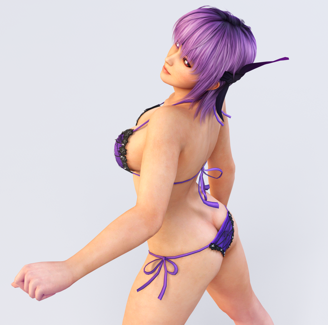 Ayane 3DS Render 18 by x2gon