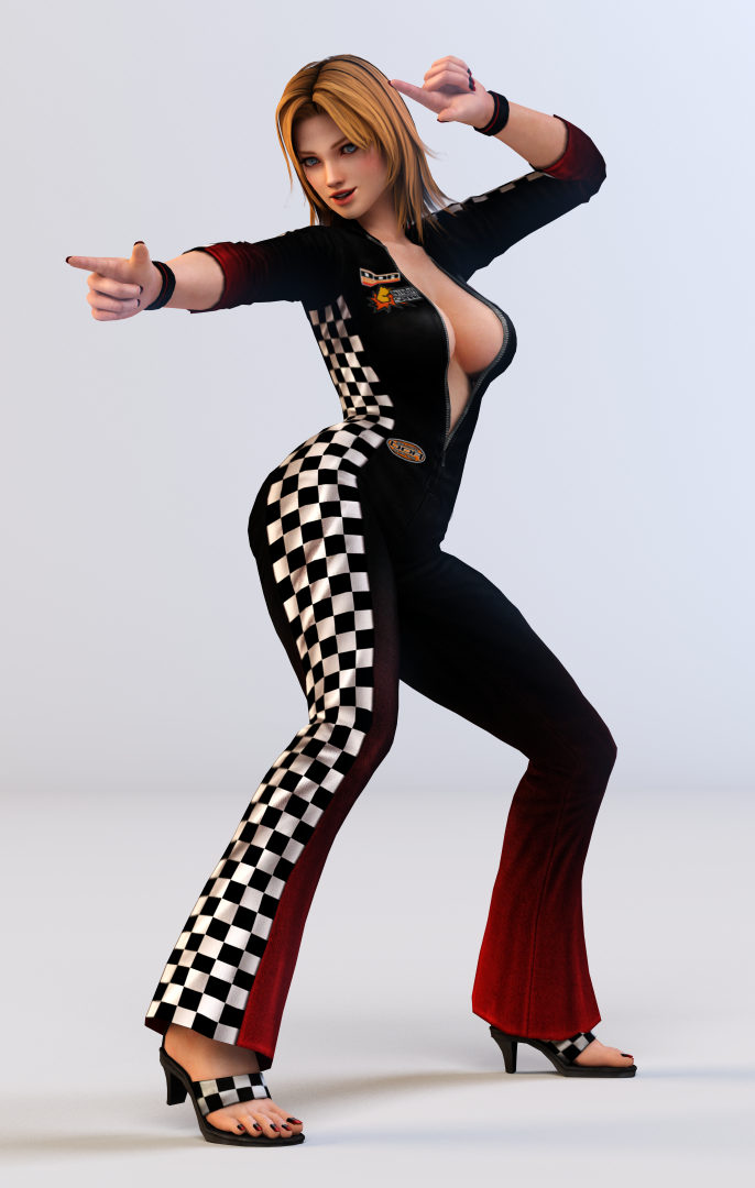Tina 3DS Render 11 by x2gon