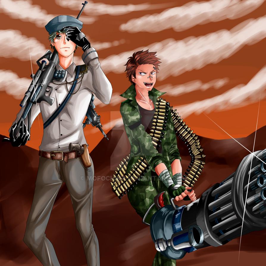 Choutarou Shishido: Military ver by mofochika