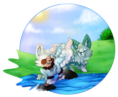 DTA FoxPond collab by Maonii