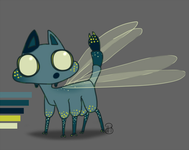 Dragon Fly Cat [ Open ] by GooMama