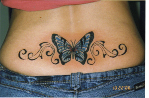 lower back tattoo design for women by tattooscollections