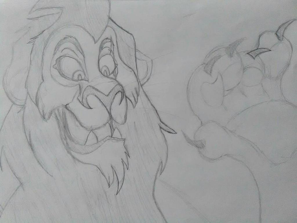 Le Scar ( The Lion King ) by Llamagirl23