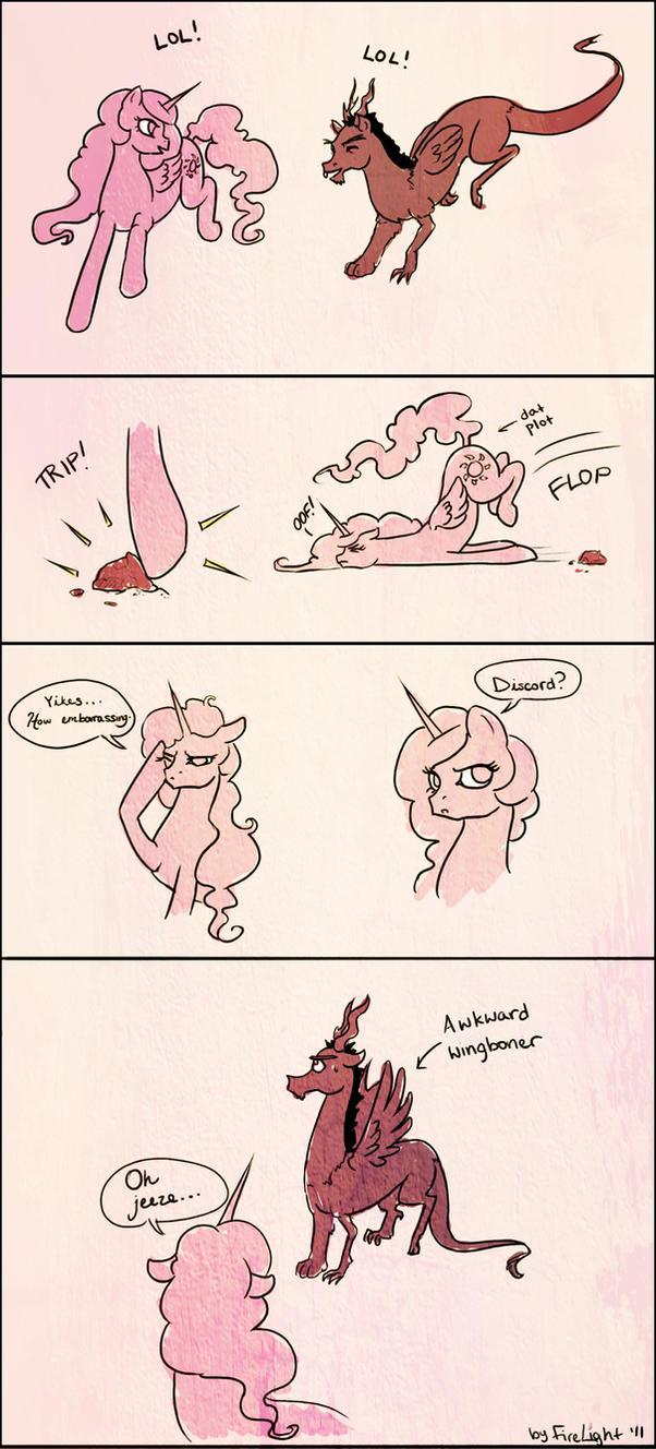 Awkward by pony-by-firelight