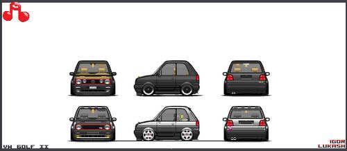 VW Golf mk. II mc by JJx95