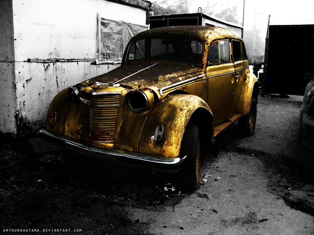 Old car - Moskvitch 400 by ArthurGautama