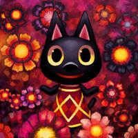 Animal Crossing: Kiki by Cortoony
