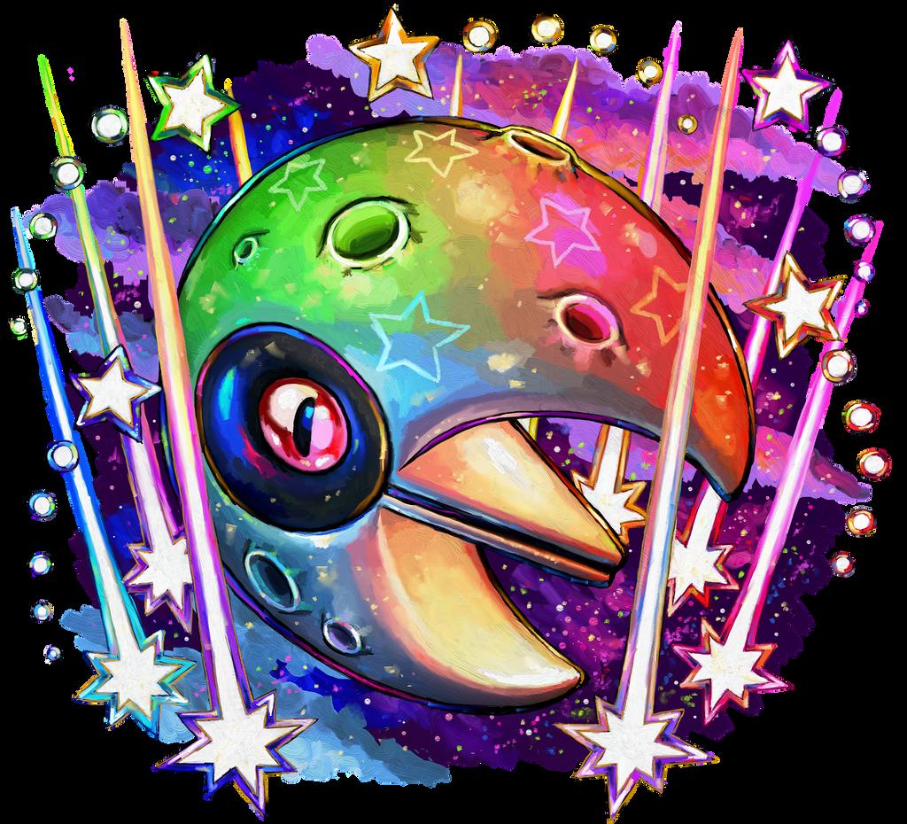 Lunatone used Cosmic Power