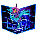 Porygon-Z used Trick Room by Cortoony