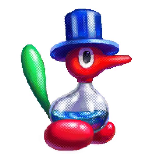 Dippy Bird Porygon2