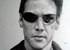 Neo - Keanu Reeves  Matrix