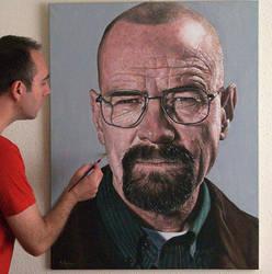Heisenberg painting by agusgusart
