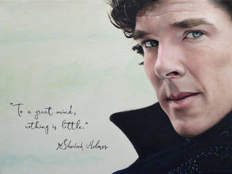 Sherlock Holmes. Benedict Cumberbatch by agusgusart