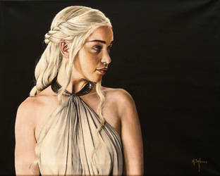 Mother Of Dragons by agusgusart