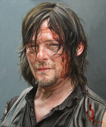 Daryl Dixon by agusgusart