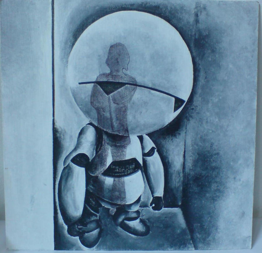ima depressed robot by naaday
