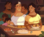 Shance Fluff Week - Home/Family