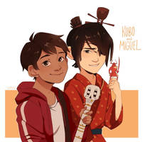 Miguel and Kubo!