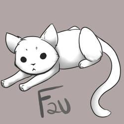 Kitty Cat F2U Base by ChunHeii