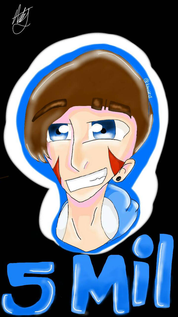 HAPPY 5MIL H2ODelirious by Allaniiej on DeviantArt H20 Delirious Drawings