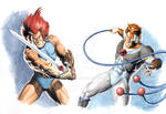 Lion-O and Tygra - Thundercats