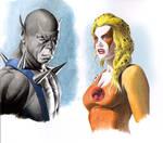 Panthro and Cheetara - Thundercats