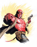 Hellboy by Az-I-Am