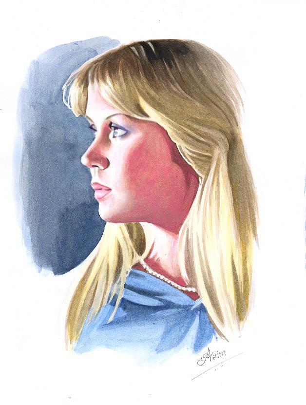 Agnetha of ABBA - 2 by Az-I-Am