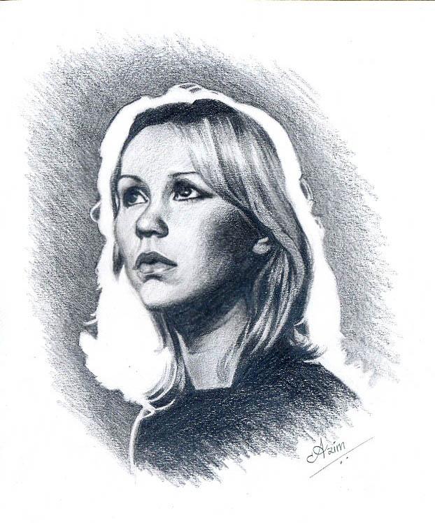 Agnetha of ABBA - 3 by Az-I-Am