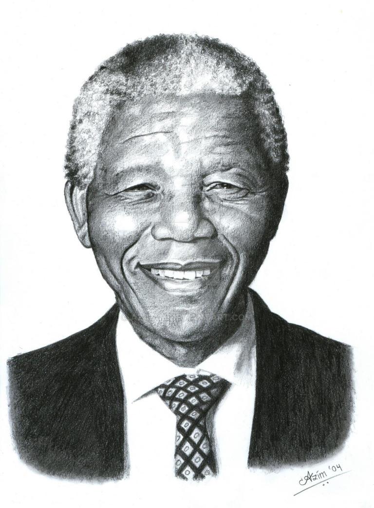Nelson Mandela by Az-I-Am