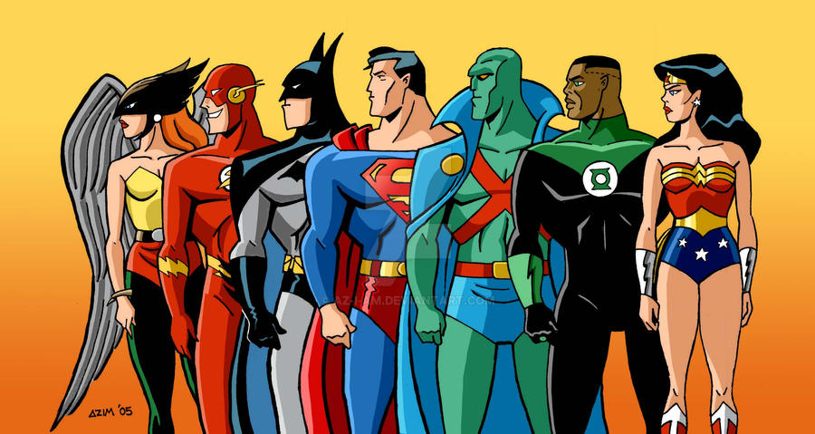 Justice League Unlimited Intro (1080p HD) - YouTube