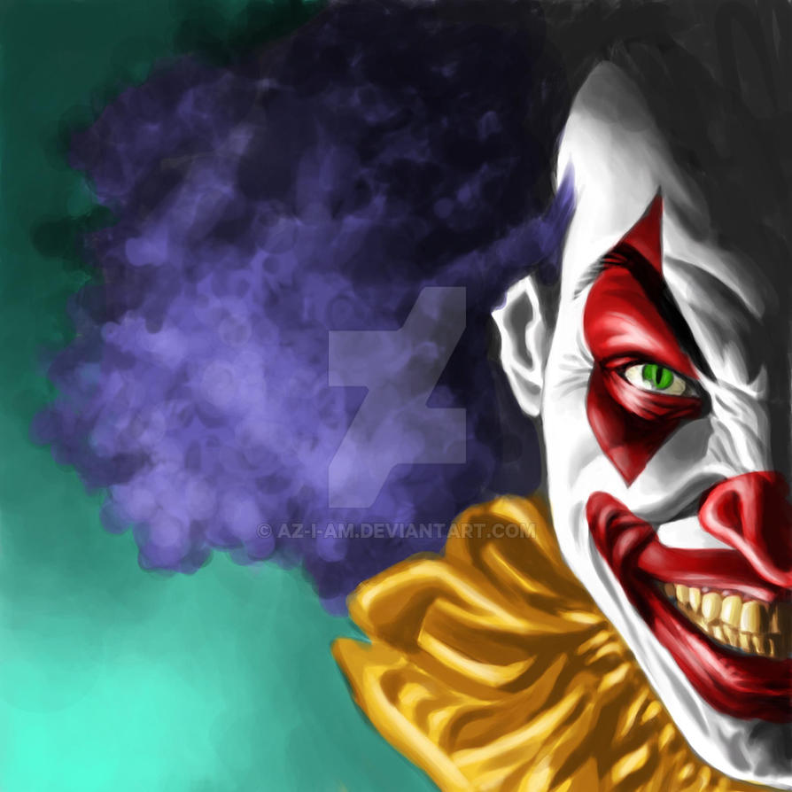 Evil Clown by Az-I-Am on DeviantArt