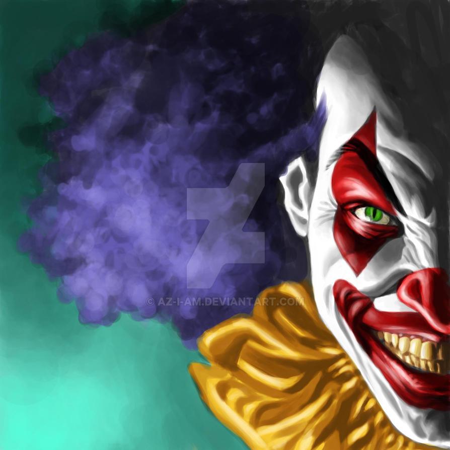 Evil Clown by Az-I-Am on DeviantArt