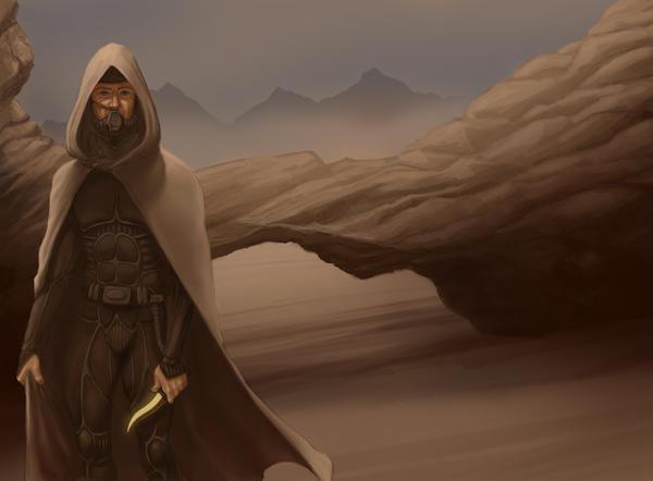 Fremen Warrior by originalnilson
