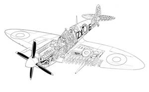 Supermarine spitfire by hod05