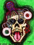 Googlie Eye Skull