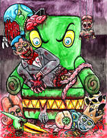 Pee Wee's Undead Playhouse by Dr-Twistid
